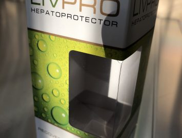 Изготовление картонной упаковки «LivePro»
