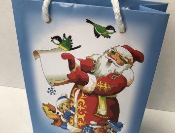 Печать полиграфической продукции «Пакет Новогодний»