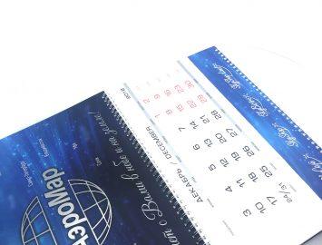 Календари для АэроМар — изготовление и офсетная печать 100000 экз.
