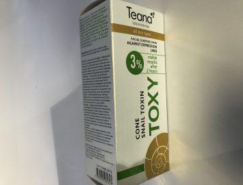 Печать картонной упаковки (короба для косметики Toxy) — 40000 экз.
