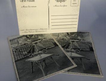 Изготовление открыток на дизайнерской бумаге для «Абрау-Дюрсо» — тираж 100000 экз.
