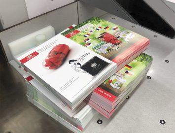 Офсетная печать — буклеты, листовки — заготовки 15000